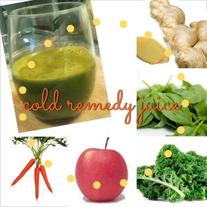 cold remedy juice
